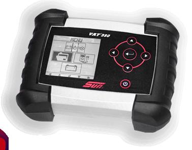 Testador de baterias VAT 350